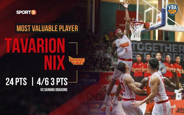Richard Nguyễn trở lại, Saigon Heat chính thức bước vào vòng Playoffs sau chiến thắng trước Danang Dragons - Ảnh 1.