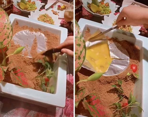 Muôn vàn tội ác trang trí đồ ăn: Từ lấy giầy đựng món khai vị đến đặt thức ăn trong bồn tiểu khiến thực khách phải rùng mình - Ảnh 13.