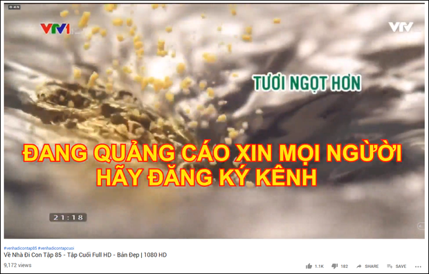 Lợi dụng Về nhà Đi Con tập cuối siêu hot, nhiều kênh YouTube làm trò bất chính để trục lợi trái phép - Ảnh 2.