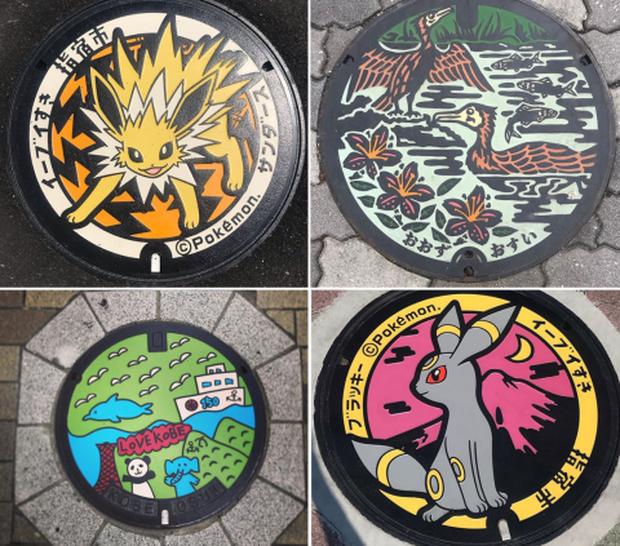 Vẽ hình Pokémon đầy sống động, đây là lý do khiến ai du lịch Nhật Bản về cũng vấn vương… cái nắp cống! - Ảnh 13.