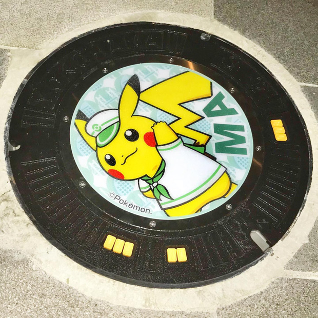 Vẽ hình Pokémon đầy sống động, đây là lý do khiến ai du lịch Nhật Bản về cũng vấn vương… cái nắp cống! - Ảnh 11.