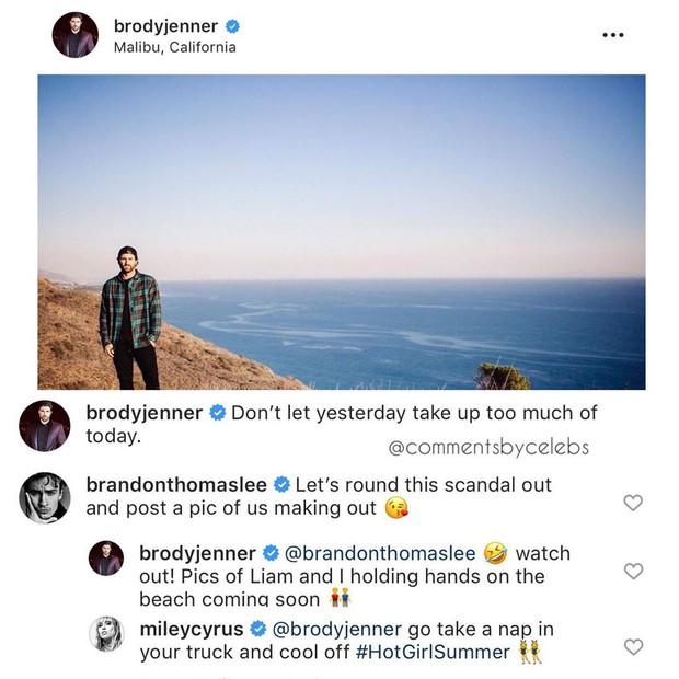 Chồng cũ của bạn gái tin đồn đá xéo cảnh thân mật hậu ly hôn, Miley Cyrus làm cho tắt điện chỉ sau 1 bình luận - Ảnh 1.