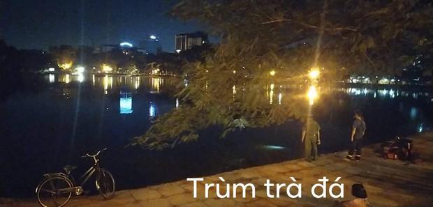 Hà Nội: Nghi án người đàn ông bỏ lại xe đạp cùng nhiều đồ đạc rồi nhảy xuống hồ tự tử trong đêm - Ảnh 1.
