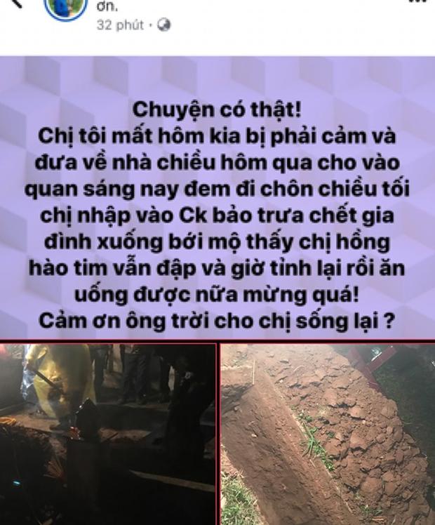 """Thực hư chuyện người chết đột nhiên sống dậy về """"ăn cơm"""" cùng gia đình ở Bắc Giang - Ảnh 1."""