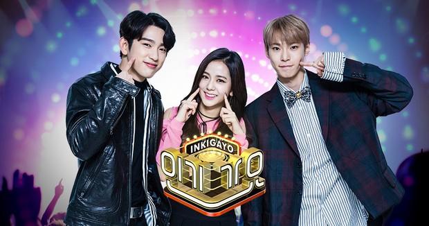 Những tiết mục thảm họa của Inkigayo: BTS và EXO bị hại cũng không bằng boygroup bị bắt cầm… gạch lên sân khấu! - Ảnh 1.