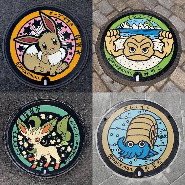 Vẽ hình Pokémon đầy sống động, đây là lý do khiến ai du lịch Nhật Bản về cũng vấn vương… cái nắp cống! - Ảnh 4.
