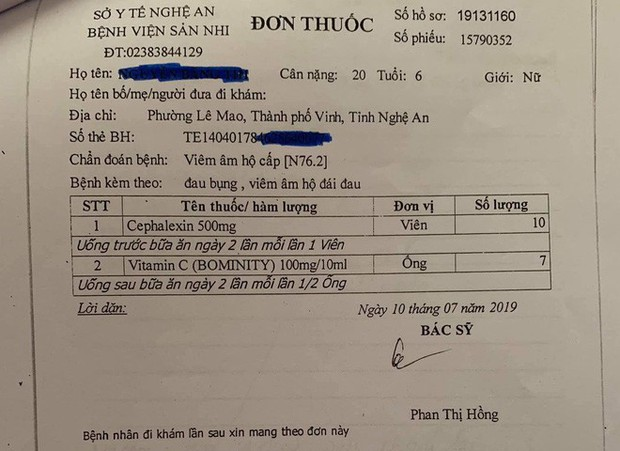 Nghi án bé gái 6 tuổi bị xâm hại tình dục ở Nghệ An: Bí ẩn 2 viên thuốc màu đen - Ảnh 1.