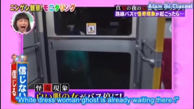Kinh hồn bạt vía với những thử thách dọa ma đáng sợ trong gameshow Nhật Bản - Ảnh 9.