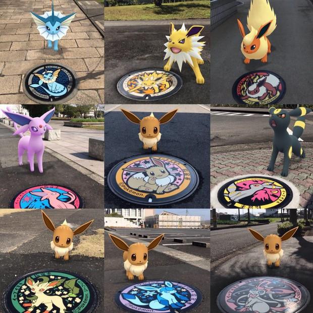 Vẽ hình Pokémon đầy sống động, đây là lý do khiến ai du lịch Nhật Bản về cũng vấn vương… cái nắp cống! - Ảnh 12.
