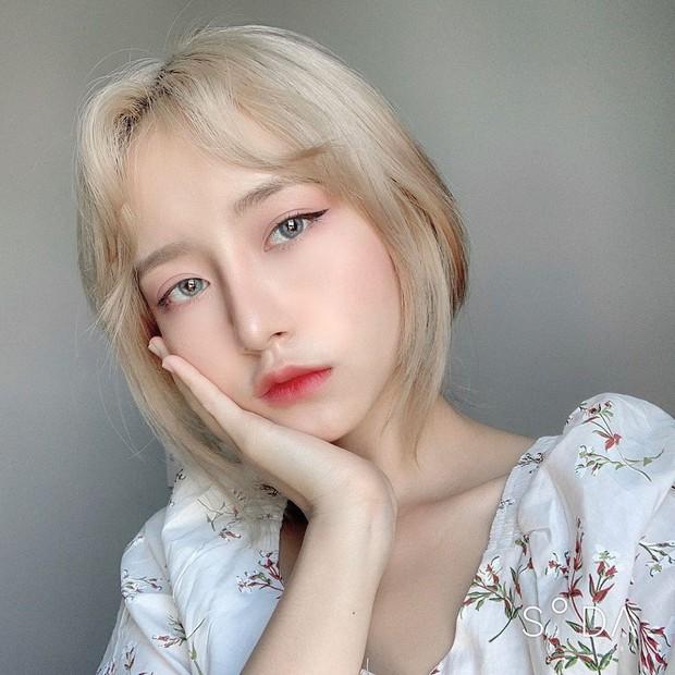 Girl xinh ĐH Hoa Sen sinh năm 1999 được khen xinh hơn cả gái Hàn, thừa nhận nâng mũi để hoàn thiện nhan sắc - Ảnh 1.