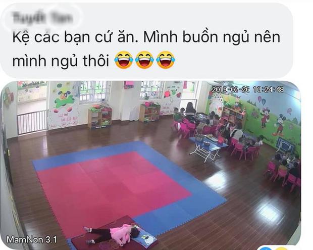 Loạt hành động không giống ai trong lớp học của các bé mầm non khiến dân mạng cười bể bụng - Ảnh 3.