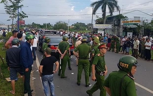 Đình chỉ thiếu tá liên quan tới vụ giang hồ vây chặn xe công an ở Đồng Nai - Ảnh 3.
