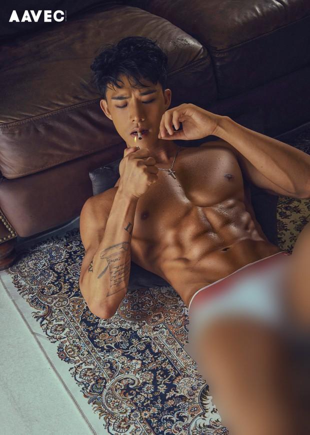 Bộ ảnh quảng cáo gây tranh cãi của mỹ nhân Sunmi và nam vũ công 6 múi nóng bỏng: Muốn đỏ mặt vì kiểu tạo dáng! - Ảnh 8.
