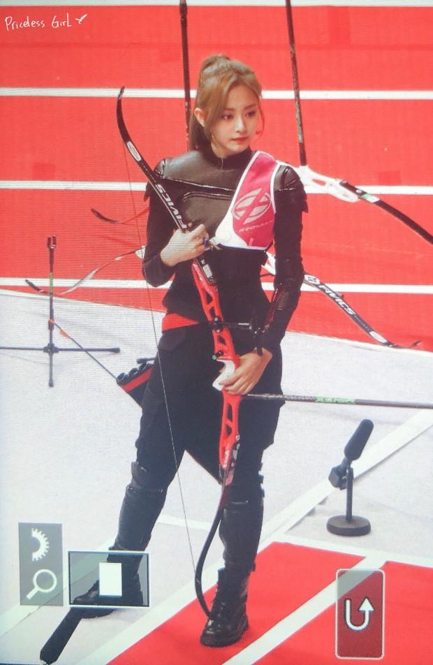 Nữ thần TWICE lại gây náo loạn Đại hội thể thao idol 2019: Ảnh fan chụp sương sương mà đẹp như nữ chiến binh - Ảnh 5.
