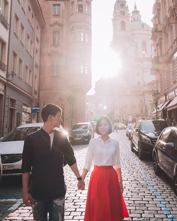 Chị ruột nổi tiếng của Chanyeol (EXO) lần đầu công khai chồng, loạt ảnh chụp chung gây bão vì đẹp như poster phim - Ảnh 2.