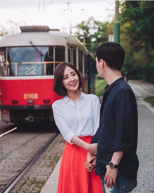Chị ruột nổi tiếng của Chanyeol (EXO) lần đầu công khai chồng, loạt ảnh chụp chung gây bão vì đẹp như poster phim - Ảnh 5.