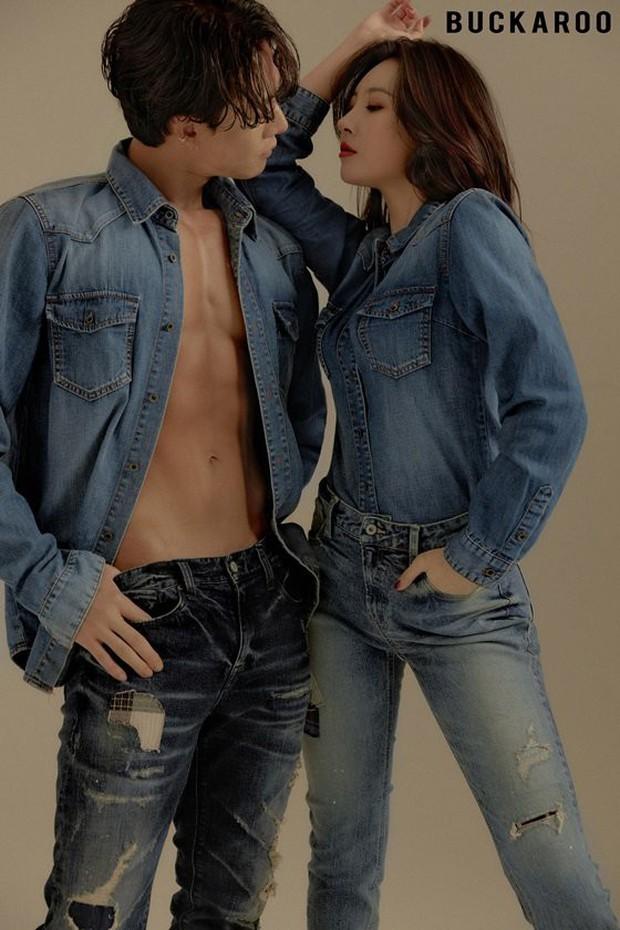 Bộ ảnh quảng cáo gây tranh cãi của mỹ nhân Sunmi và nam vũ công 6 múi nóng bỏng: Muốn đỏ mặt vì kiểu tạo dáng! - Ảnh 5.