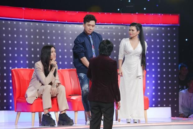 Trường Giang nịnh vợ Nhã Phương trên sóng truyền hình: Vợ em không make up em thấy vẫn đẹp - Ảnh 5.