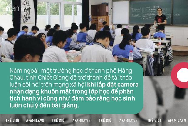 Hệ thống nhận diện khuôn mặt tại trường học Trung Quốc: Tự động báo phụ huynh khi trẻ vắng mặt, ngăn bạo lực nhưng lại khiến học sinh thêm áp lực - Ảnh 2.