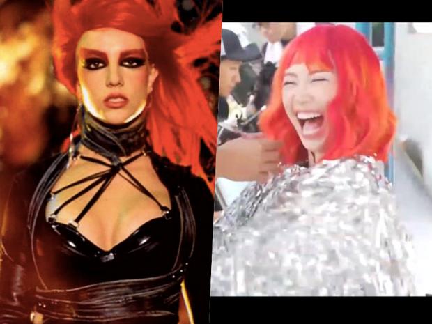 Rò rỉ ảnh từ MV mới nhất của Tóc Tiên: nghi vấn tạo hình rất giống 1 MV huyền thoại của Britney Spears? - Ảnh 4.