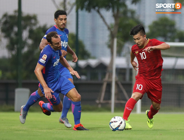 Martin Lo tỏa sáng, U22 Việt Nam thắng nhẹ CLB mạnh nhất của Hong Kong (Trung Quốc) - Ảnh 1.