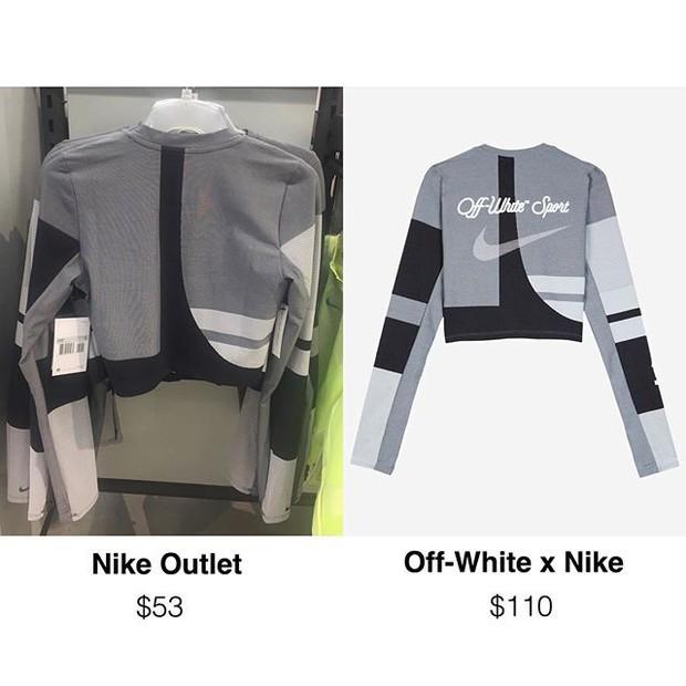 Làm giàu ngon ăn như Nike: in thêm logo Off-White lên đồ outlet rồi bán luôn giá gấp đôi! - Ảnh 3.