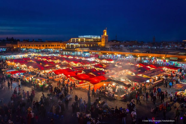 """Mặc trời nóng 46 độ, """"chị Ba"""" Ngô Thanh Vân quyết sang châu Phi khám phá chợ trời nức tiếng Maroc và ngồi… buôn dép - Ảnh 19."""
