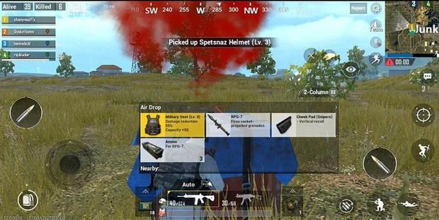 PUBG Mobile Lite: Tận dụng sức công phá của RPG, việc giành Top 1 chỉ mất 7 - 10 phút - Ảnh 3.