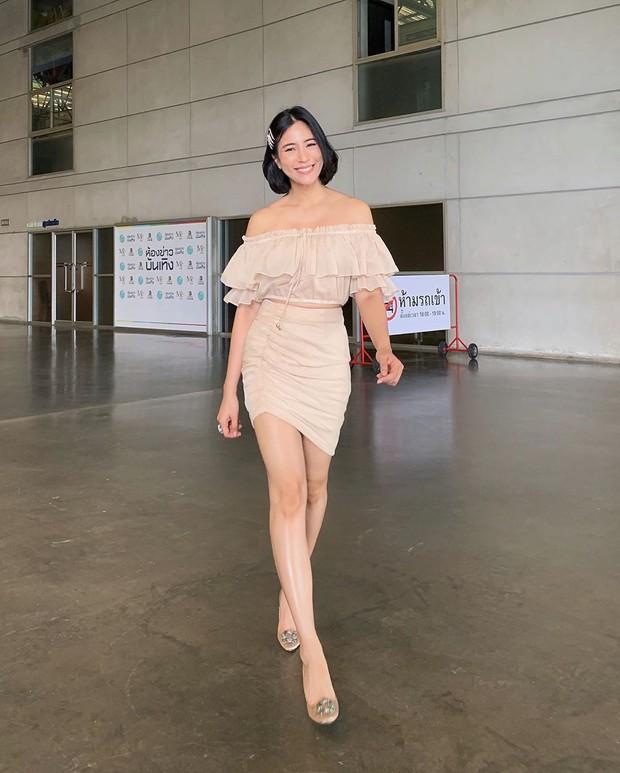 Bà xã hơn 3 tuổi của dượng Chat: Đã xinh còn mặc siêu đẹp, chẳng trách biến chồng thành nam thần chung thủy bậc nhất showbiz Thái - Ảnh 5.