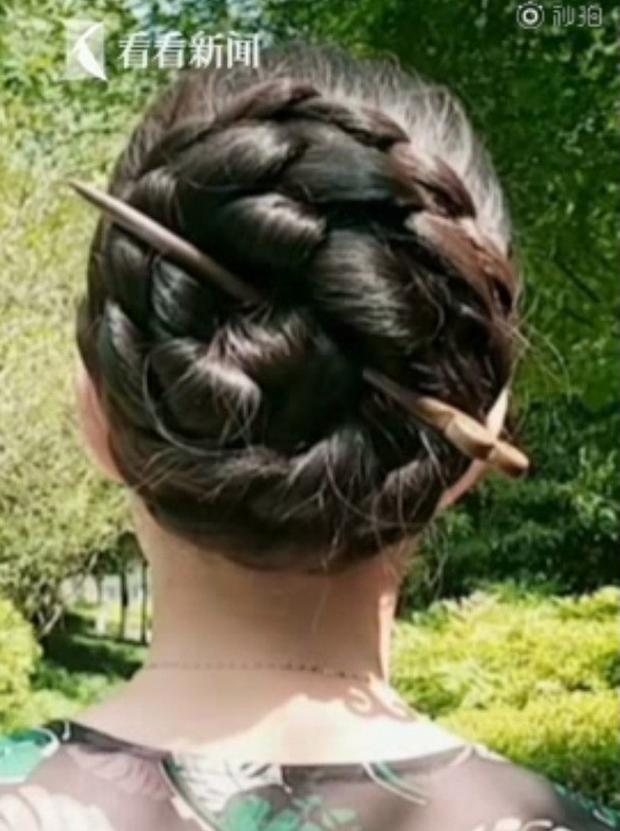 Tiên nữ tóc mây Trung Quốc tự hào với bộ tóc dài 2,5m, người mua ngã giá hơn 300 triệu nhưng không thèm bán - Ảnh 7.