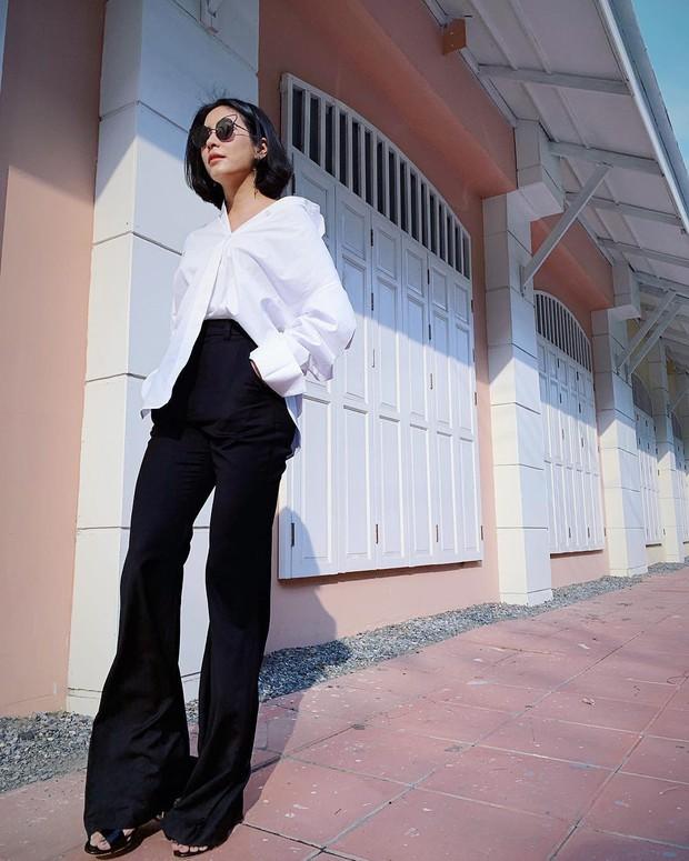 Bà xã hơn 3 tuổi của dượng Chat: Đã xinh còn mặc siêu đẹp, chẳng trách biến chồng thành nam thần chung thủy bậc nhất showbiz Thái - Ảnh 10.