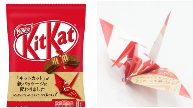 Bảo vệ môi trường đẳng cấp Nhật Bản: dùng giấy origami để gói kẹo - Ảnh 2.