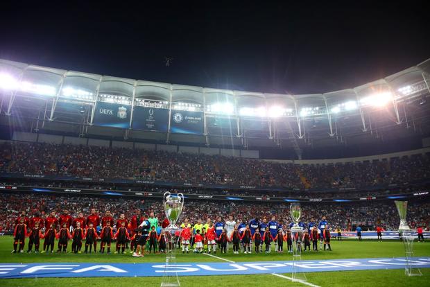Đánh bại Chelsea sau loạt sút luân lưu cân não, Liverpool đăng quang Siêu cúp châu Âu - Ảnh 1.