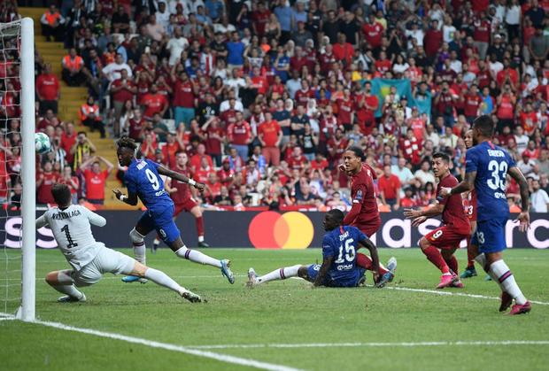 Đánh bại Chelsea sau loạt sút luân lưu cân não, Liverpool đăng quang Siêu cúp châu Âu - Ảnh 11.