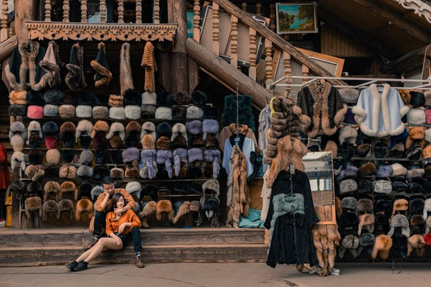 Vẫn biết nước Nga rất đẹp, nhưng xem album ảnh du lịch của cặp đôi người Việt này xong chỉ biết thốt lên: Xuất sắc cả tưởng tượng! - Ảnh 1.