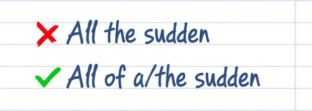 18 lỗi ngữ pháp tiếng Anh tưởng đơn giản nhưng hoá ra ai cũng từng mắc phải một vài lần trong đời! - Ảnh 7.