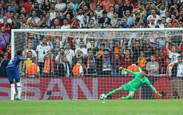 Đánh bại Chelsea sau loạt sút luân lưu cân não, Liverpool đăng quang Siêu cúp châu Âu - Ảnh 20.