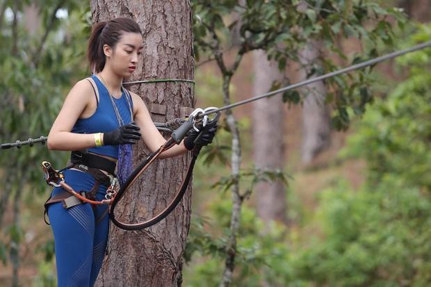 Cuộc đua kỳ thú: Đỗ Mỹ Linh bật khóc bất lực khi phải thực hiện thử thách một mình - Ảnh 5.