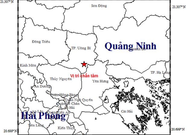 Động đất cường độ 3,2 làm rung chuyển nhà dân ở tỉnh Quảng Ninh - Ảnh 1.