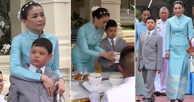 Hoàng hậu Thái Lan trở thành mẹ kế được dân chúng ngưỡng mộ bởi một loạt hành động đầy yêu thương với Hoàng tử nhỏ bị thiếu thốn tình cảm - Ảnh 3.