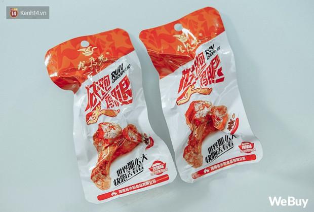 """Review """"tận miệng"""" đùi gà 15k Trung Quốc hot rần rần: Không dở nhưng chẳng đủ ngon để trở thành món khoái khẩu - Ảnh 5."""