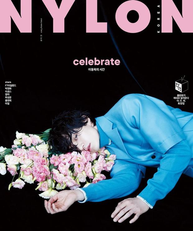 Phát hiện ma cà rồng trà trộn trong showbiz Hàn, đốn gục hàng nghìn fan vì vạch áo khoe múi trên tạp chí - Ảnh 2.