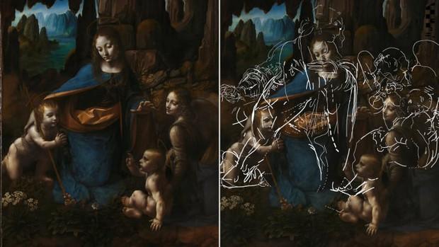 Sau gần nửa THIÊN NIÊN KỶ, khoa học cuối cùng đã tìm ra bí mật ẩn dưới bức họa danh họa Leonardo da Vinci - Ảnh 2.