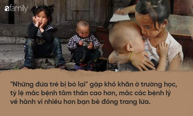 Những đứa trẻ bị bỏ rơi ở Trung Quốc khi bố mẹ ra thành phố mưu sinh: Trầm cảm vì tổn thương, rủ nhau tìm đến cái chết - Ảnh 6.