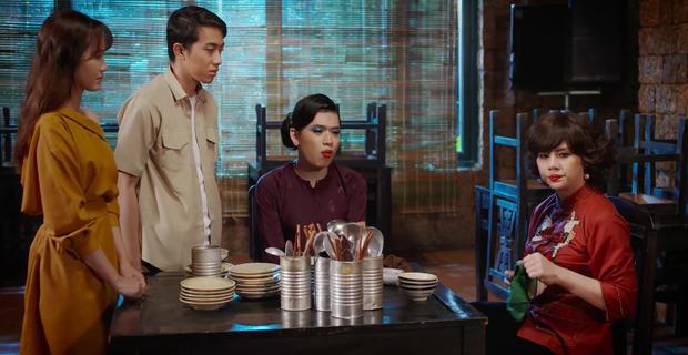 Quang Trung luôn miệng chê Duy Khánh... diễn xuất dở trong Bà 5 Bống tập 3 phần 2 - Ảnh 5.