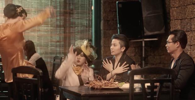 Quang Trung luôn miệng chê Duy Khánh... diễn xuất dở trong Bà 5 Bống tập 3 phần 2 - Ảnh 11.