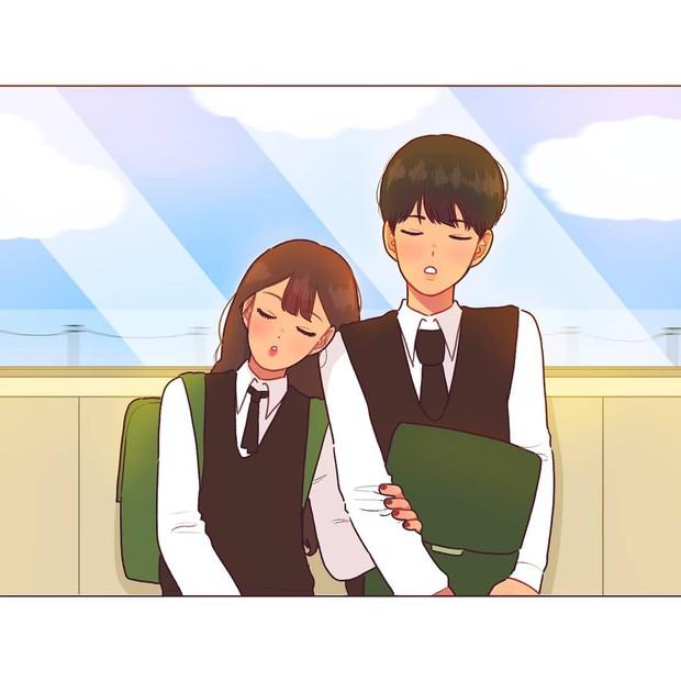Có crush hồi đi học chính là trêu nhau cho đã nhưng rồi vô tình ánh mắt chạm nhau là ngượng ngùng - Ảnh 1.