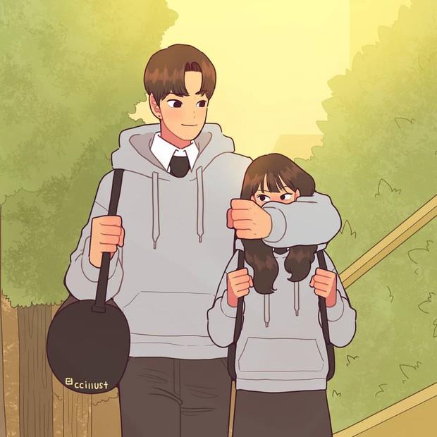 Có crush hồi đi học chính là trêu nhau cho đã nhưng rồi vô tình ánh mắt chạm nhau là ngượng ngùng - Ảnh 7.