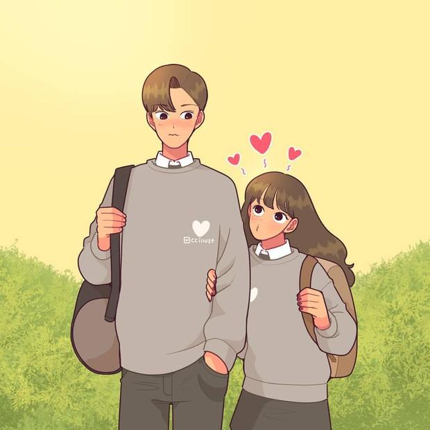 Có crush hồi đi học chính là trêu nhau cho đã nhưng rồi vô tình ánh mắt chạm nhau là ngượng ngùng - Ảnh 11.