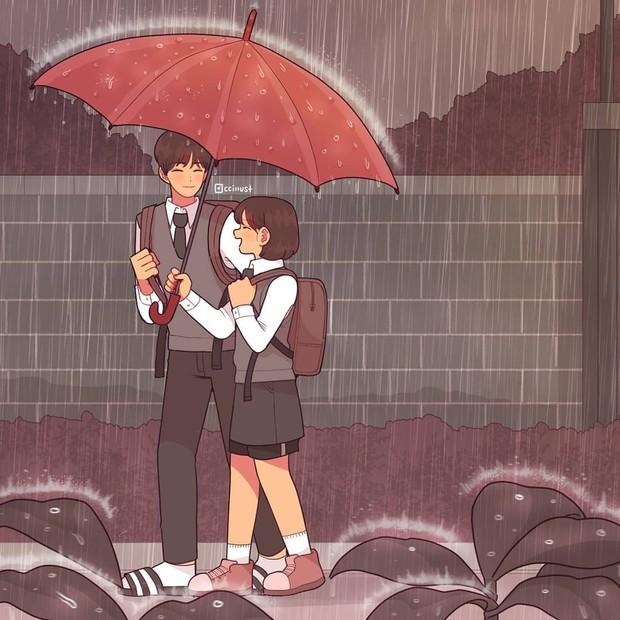 Có crush hồi đi học chính là trêu nhau cho đã nhưng rồi vô tình ánh mắt chạm nhau là ngượng ngùng - Ảnh 19.